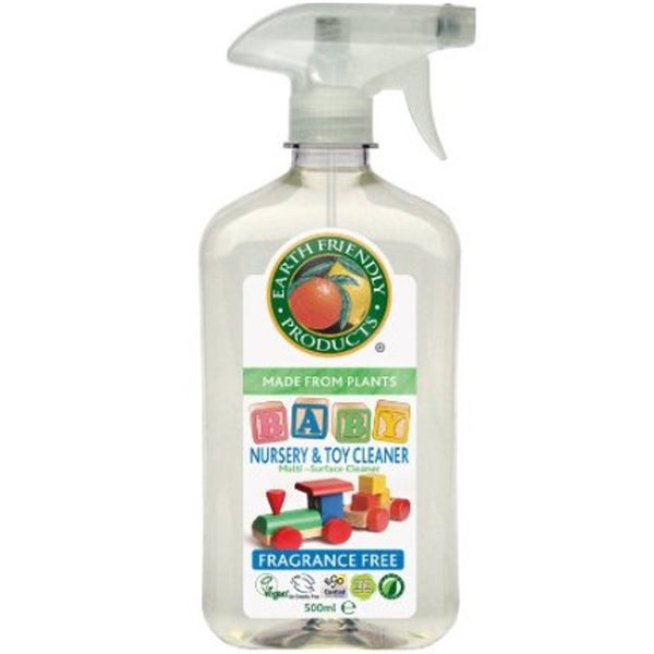 Earth Friendly Nursery and Toy Cleaner, 500 ml.