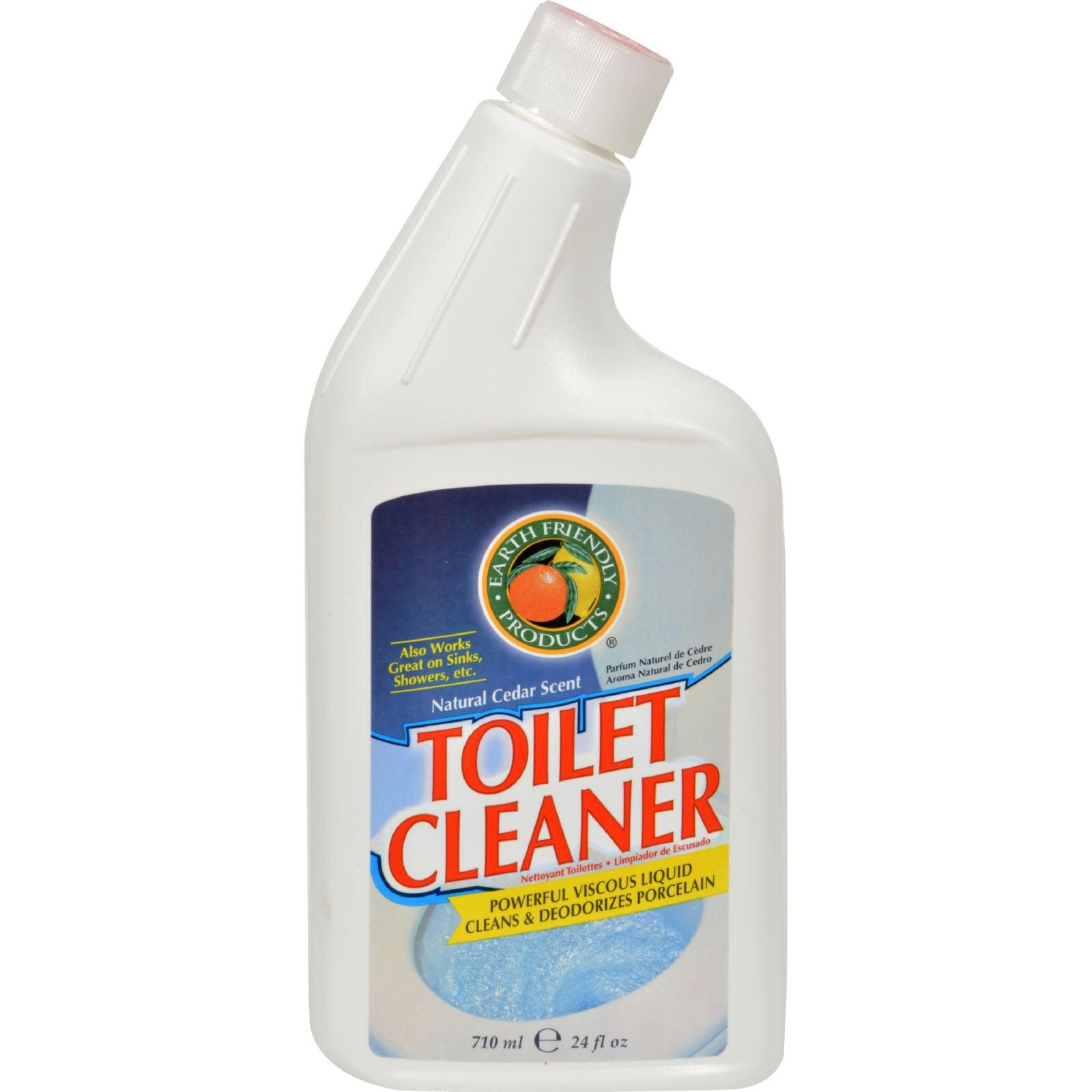 Earth Friendly Toilet Cleaner, 710 ml.-NaturesWisdom