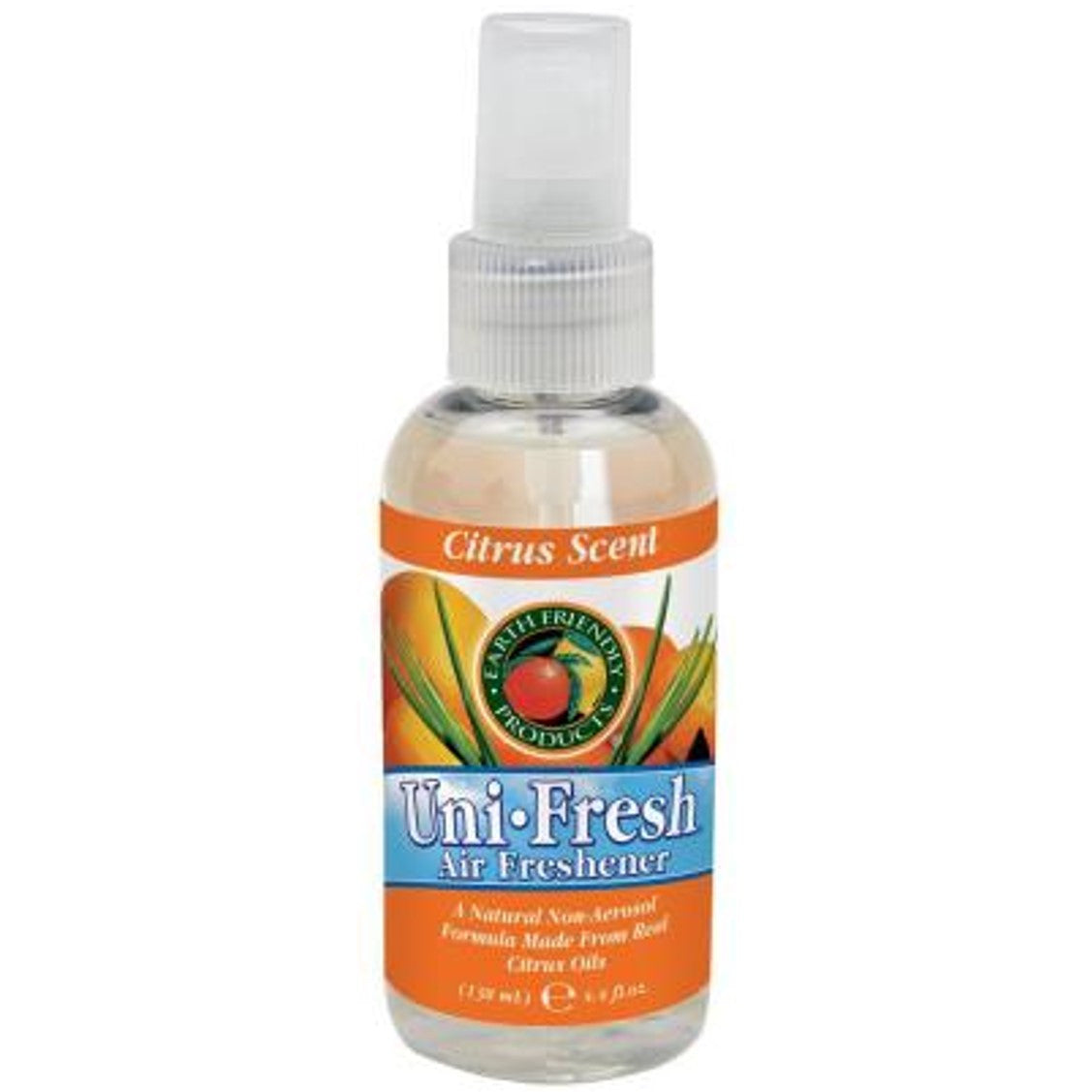 Earth Friendly Uni Fresh Air Freshener - Citrus Blend, 130 ml.-NaturesWisdom