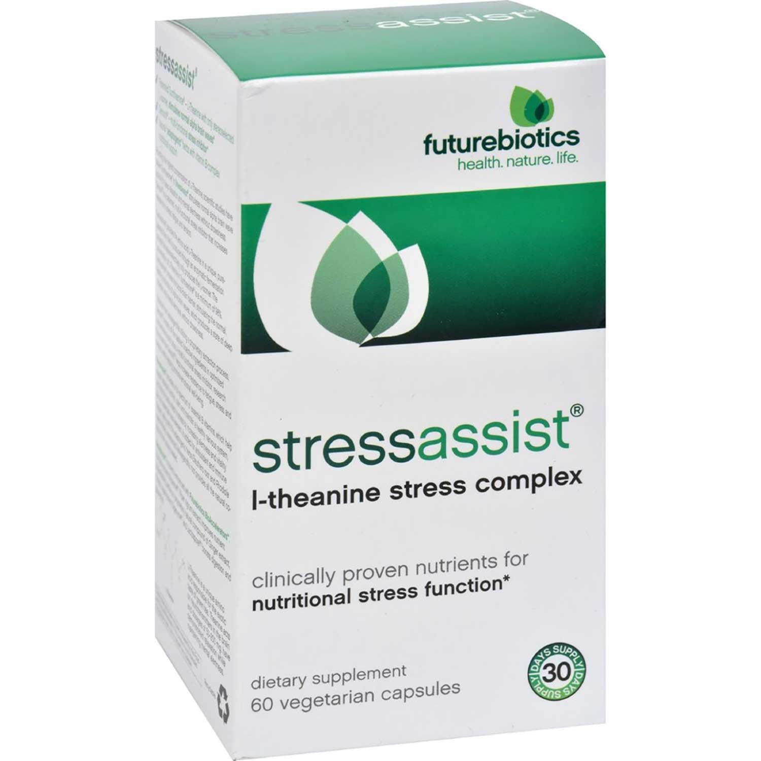 Futurebiotics StressAssist, 60 vcaps.-NaturesWisdom