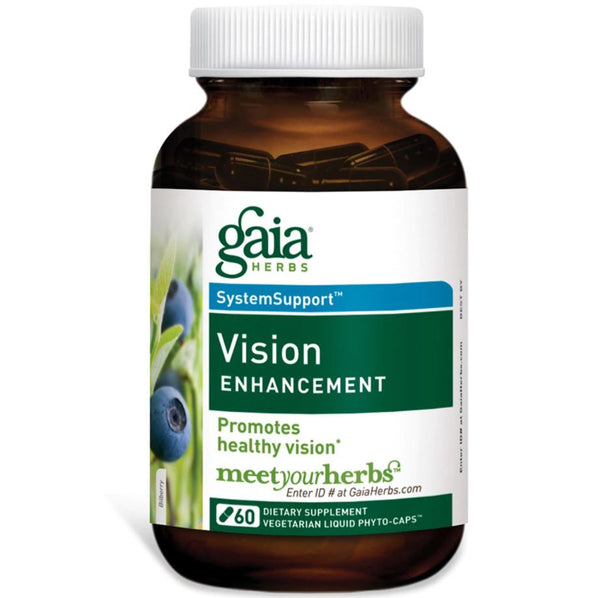 Gaia Herbs Vision Enhancement Liquid Phyto-Caps, 60 caps.