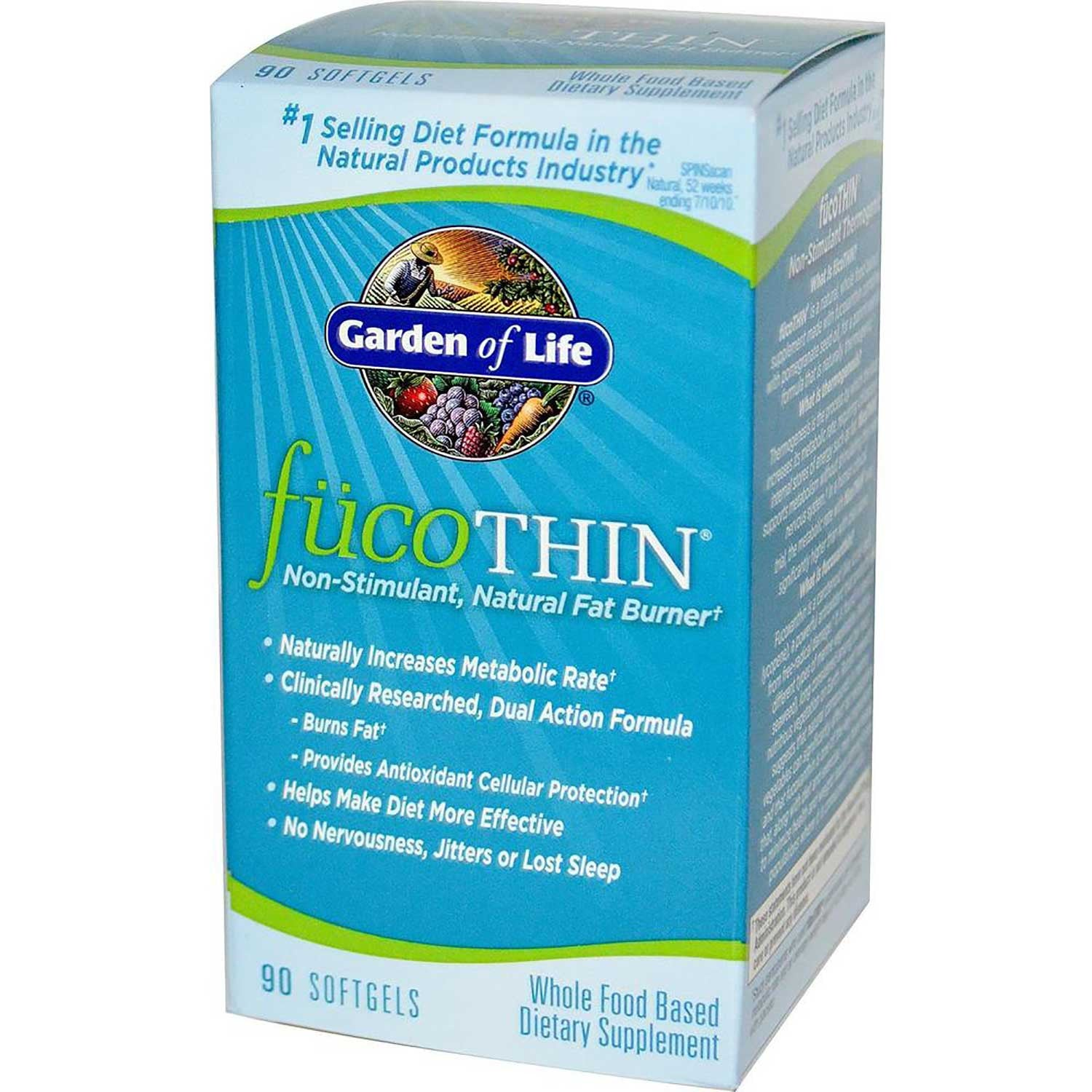 Garden of Life FucoThin, 90 caps.-NaturesWisdom