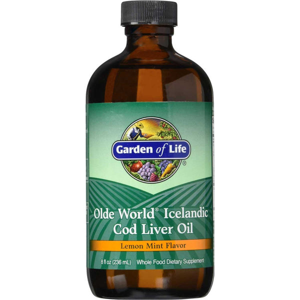 Garden of Life Olde World Icelandic Cod Liver Oil,  237 ml.
