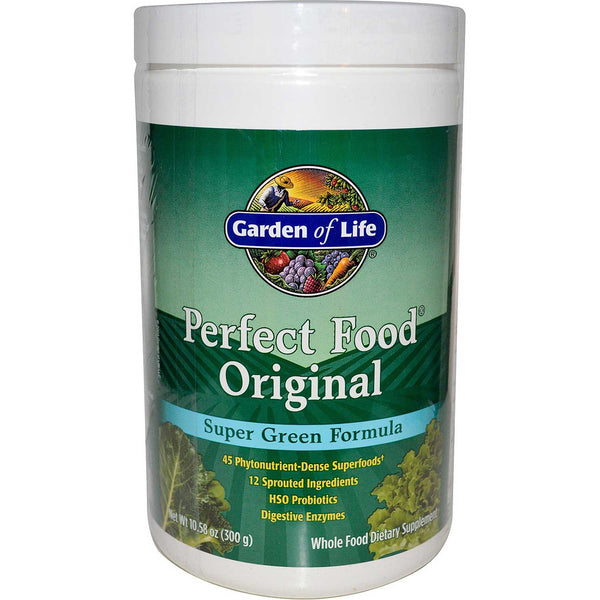 Garden of Life Perfect Food - Original (Powder), 300 g.