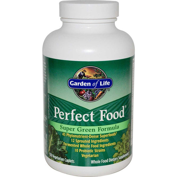Garden of Life Perfect Food, 150 caplets.
