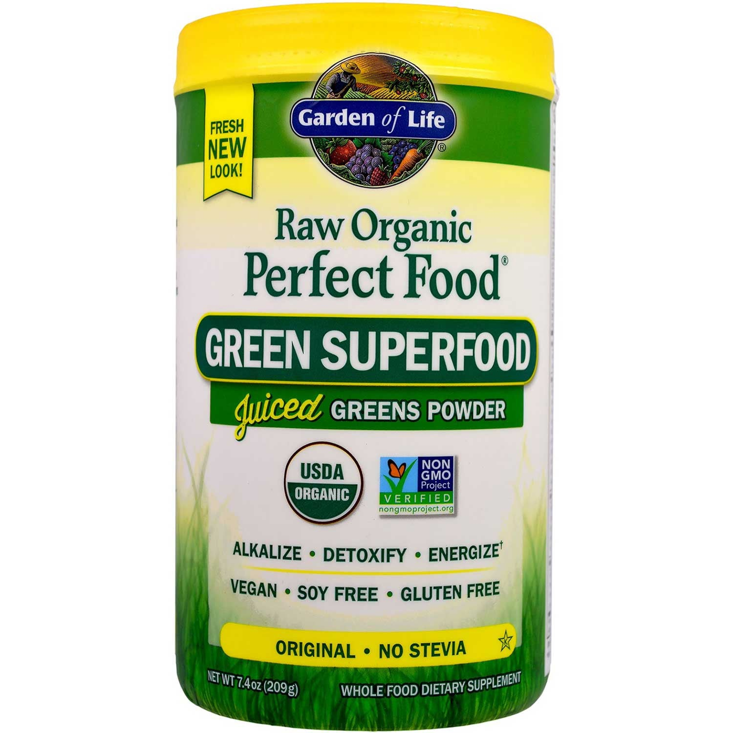 Garden of Life Perfect Food Raw - Organic (Powder), 240 g.-NaturesWisdom