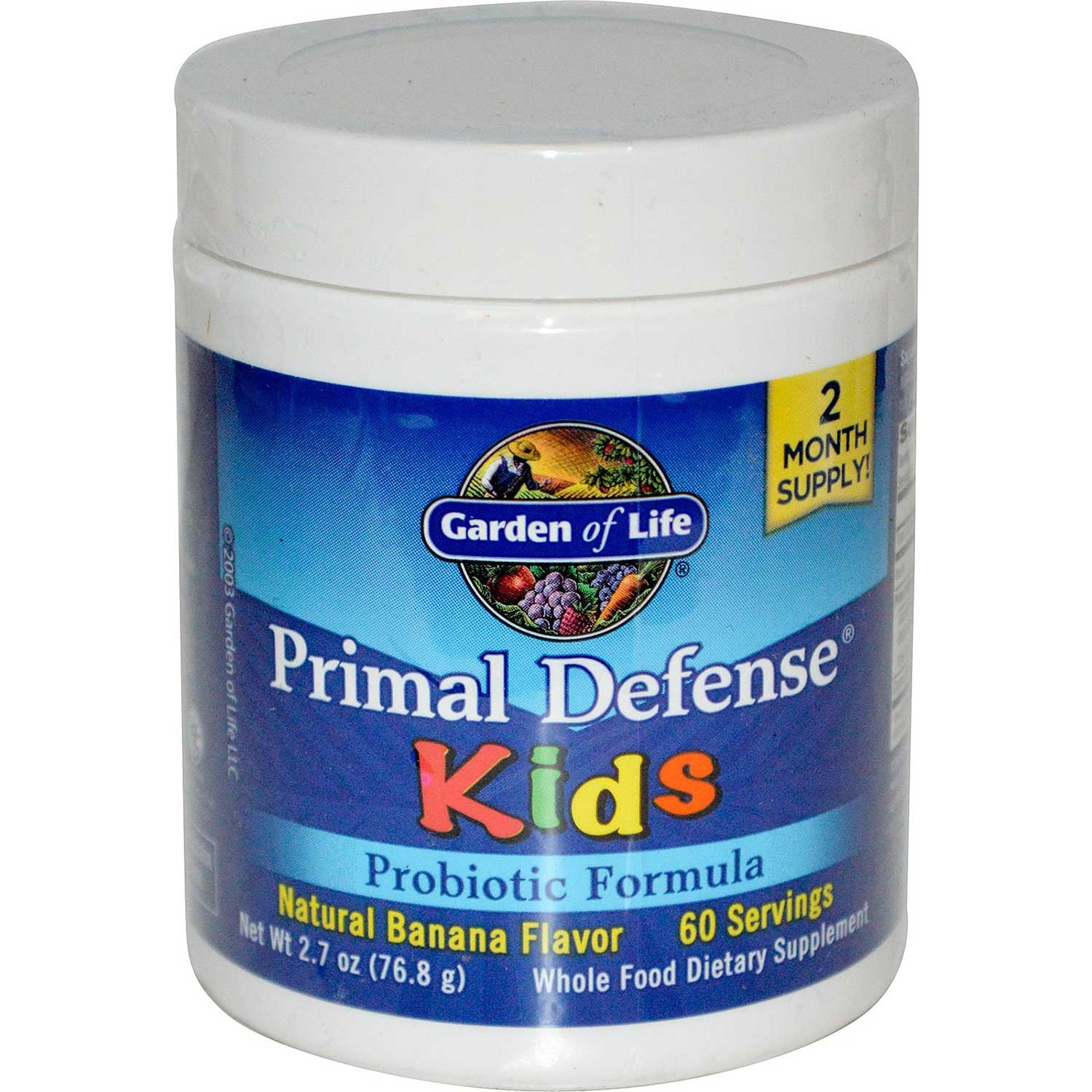 Garden of Life Primal Defense Kids, 76.8 g.-NaturesWisdom