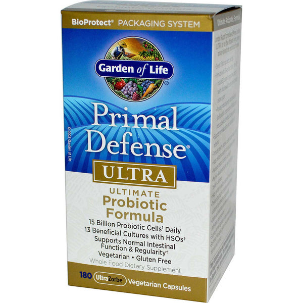 Garden of Life Primal Defense Ultra, 90 Vcaps.