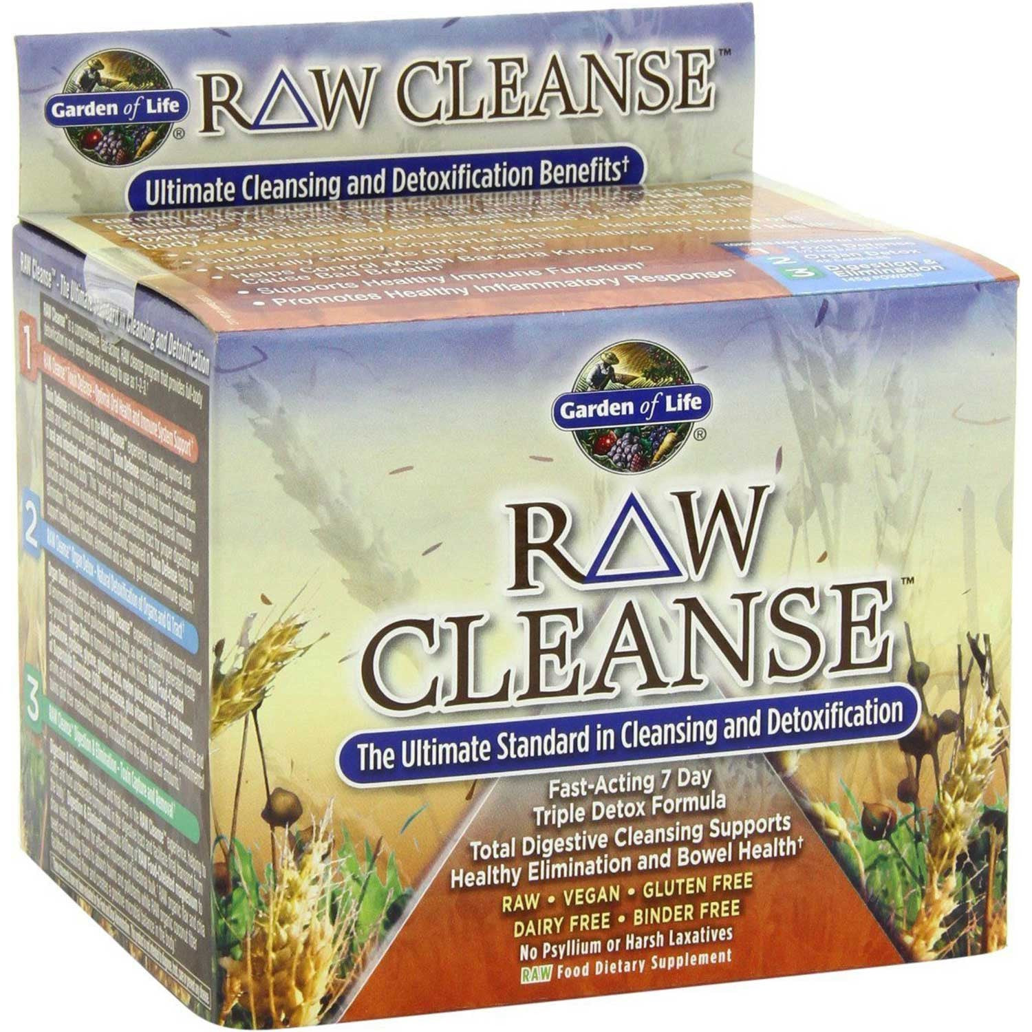 Garden of Life Raw Cleanse System (3 Products).-NaturesWisdom