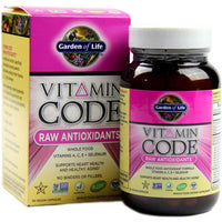 Garden of Life Vitamin Code Raw Antioxidants, 30 Vcaps.-NaturesWisdom