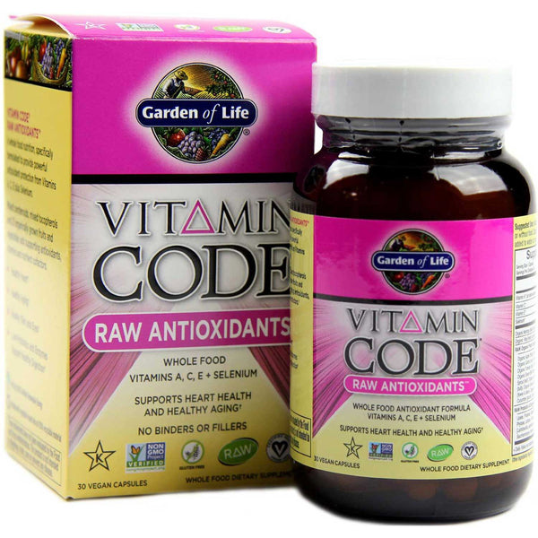 Garden of Life Vitamin Code Raw Antioxidants, 30 Vcaps.