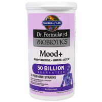 Garden of Life Dr. Formulated PROBIOTICS Once Daily Mood, 60 Vcaps.-NaturesWisdom