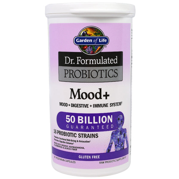 Garden of Life Dr. Formulated PROBIOTICS Once Daily Mood, 60 Vcaps.