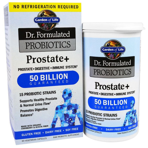 Garden of Life Dr. Formulated PROBIOTICS Once Daily Prostate, 60 Vcaps.