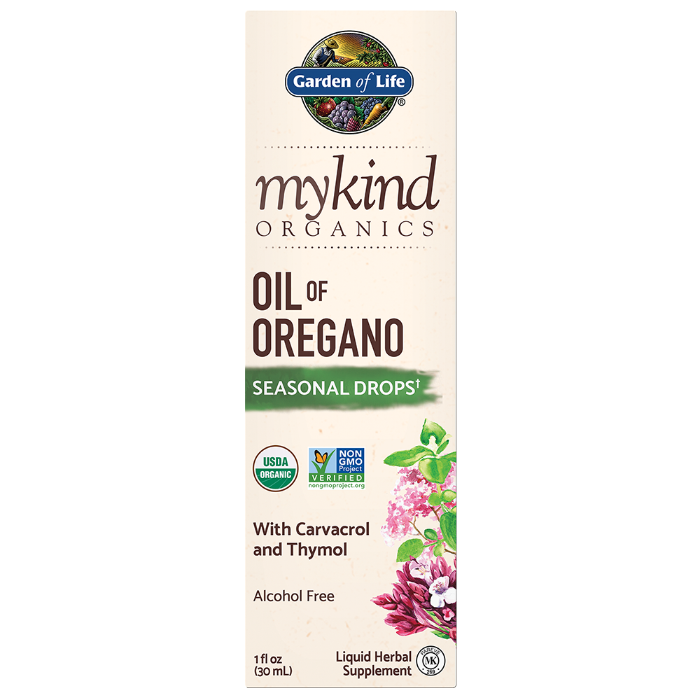 Garden of Life myKind Organics Herbal Oregano Oil, 30ml.-NaturesWisdom