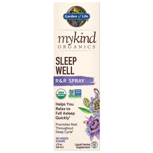 Garden of Life myKind Organics Herbal Sleep Spray, 60ml.