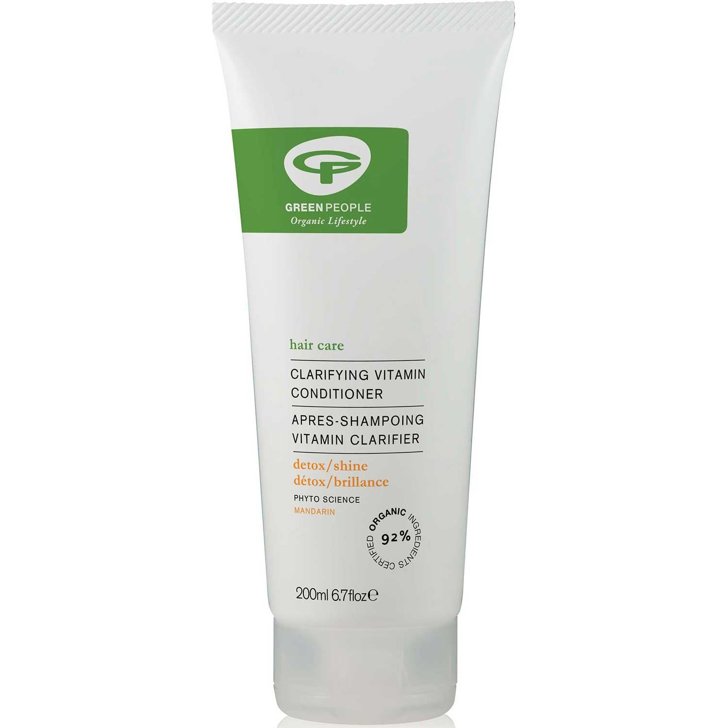 Green People Clarifying Vitamin Conditioner, 200 ml.-NaturesWisdom
