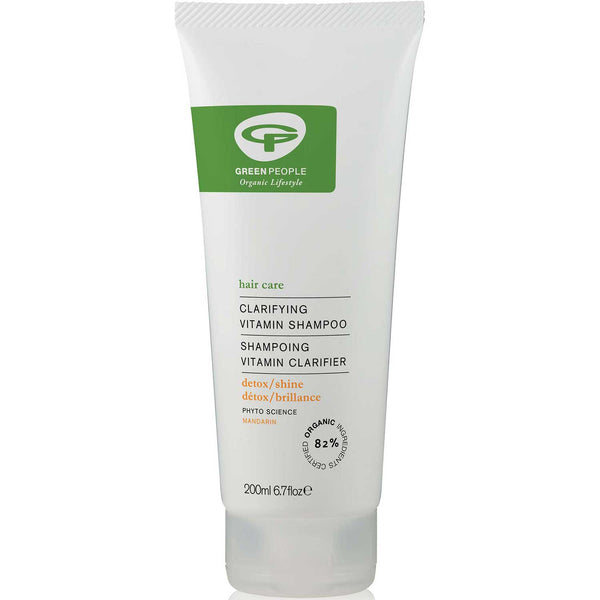 Green People Clarifying Vitamin Shampoo, 200 ml.