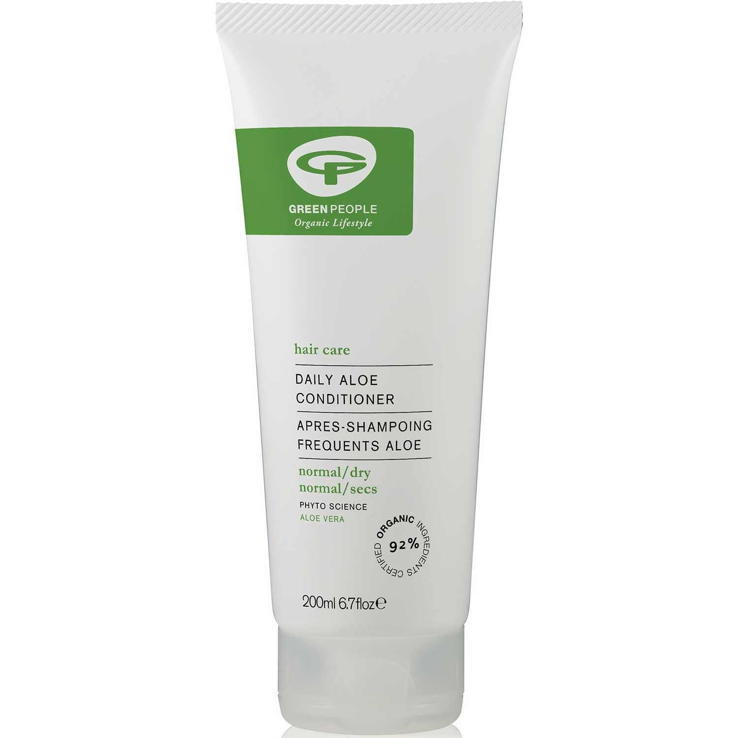 Green People Daily Aloe Conditioner, 200 ml.-NaturesWisdom