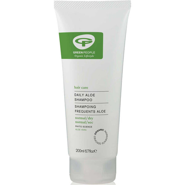 Green People Daily Aloe Shampoo, 200 ml.
