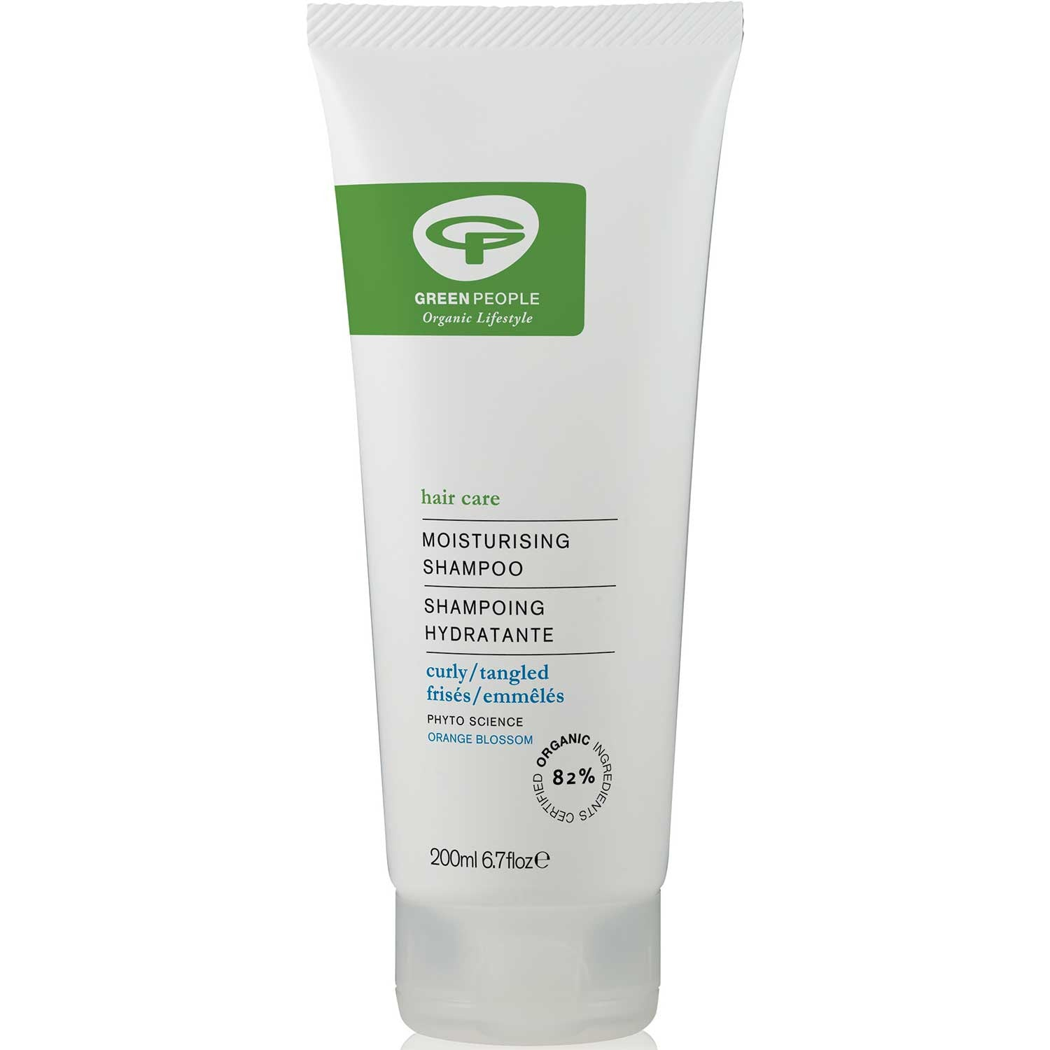Green People Moisturizing Shampoo, 200 ml.-NaturesWisdom