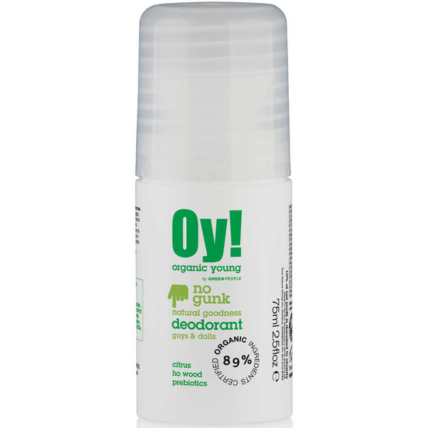 Green People Organic Young Roll on Deodorant, 75 ml.