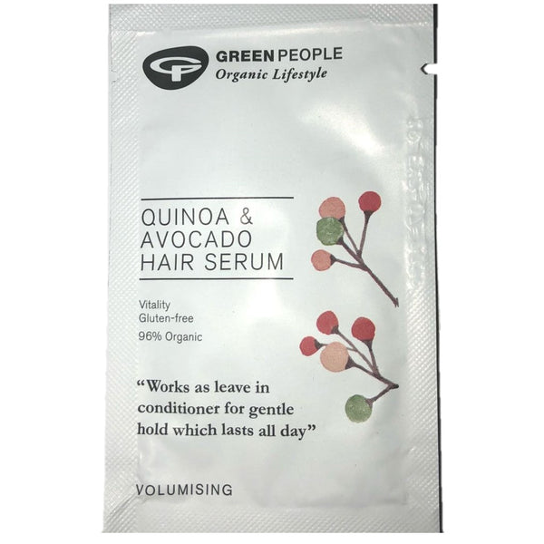 FREE SAMPLE Green People Quinoa & Avocado Hair Serum
