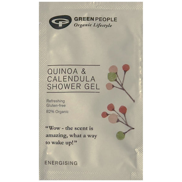 FREE SAMPLE Green People Quinoa & Calendula Shower Gel
