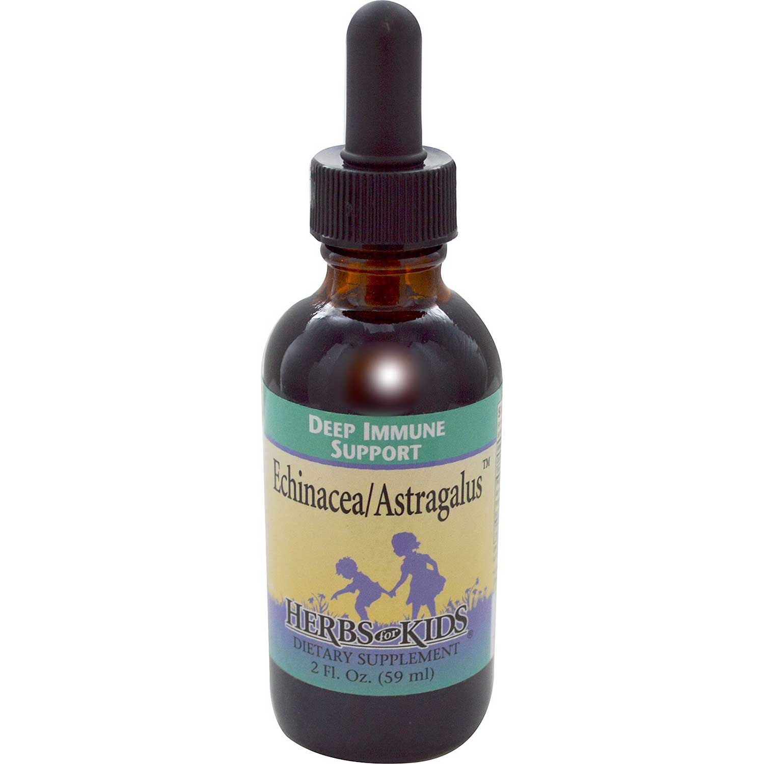 Herbs for Kids Echinacea/Astragalus, 59 ml.-NaturesWisdom