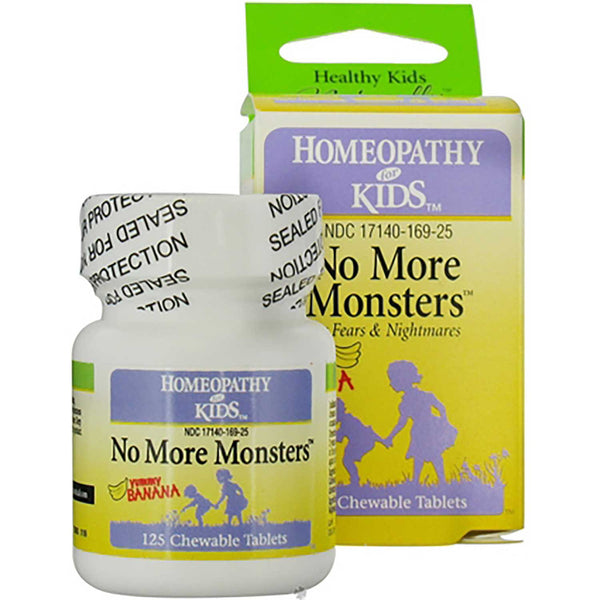 Homeopathy for Kids No More Monsters (For Fears & Nightmares), 125 tabs.