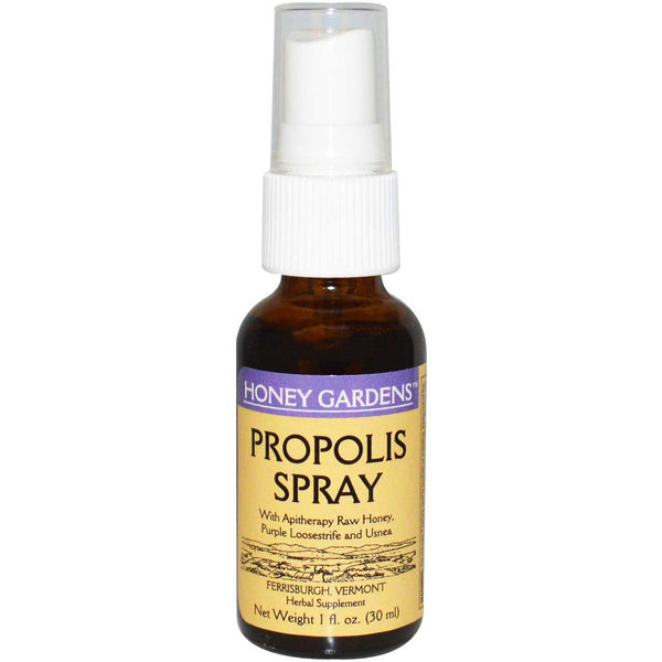 Honey Gardens Apitherapy Propolis Spray, 30 ml.