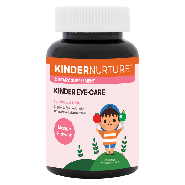 KinderNurture Kinder Eye-Care, 30 gummies.