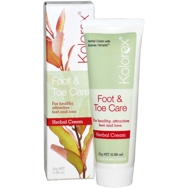 Kolorex Foot & Toe Care Cream, 25 g.