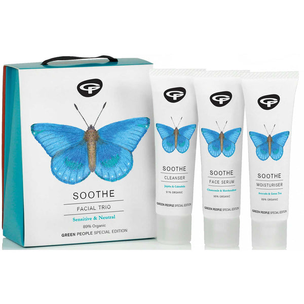 Green People Facial Trio Soothe Gift Set