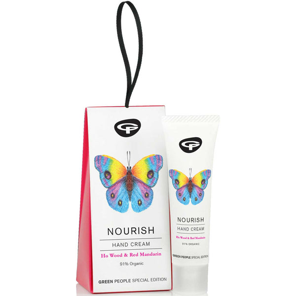 Green People Nourish Hand Cream Gift Set, 30ml.