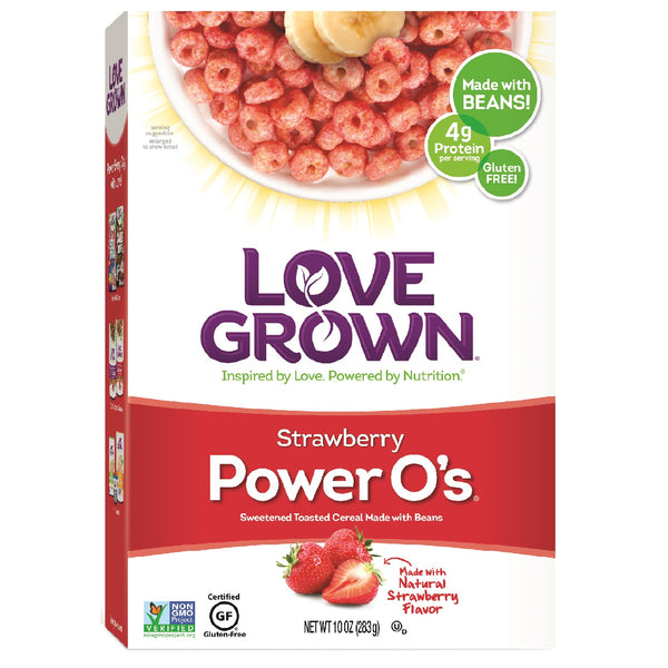 Love Grown Power O's- Strawberry, 284g