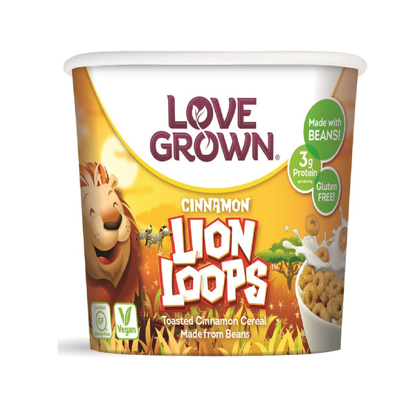 Love Grown Lion Loops Cup- Cinnamon Flavour, 32g