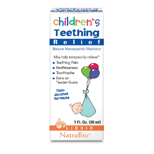 Natra-Bio Children's Teething Relief, 30 ml.