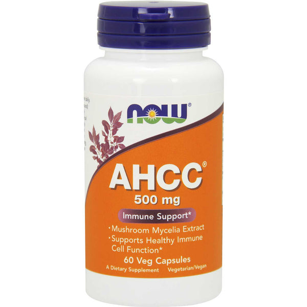NOW AHCC Immune Support 500 mg, 60 Vcaps.