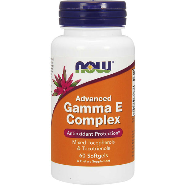 NOW Advanced Gamma E Complex, 60 sgls.