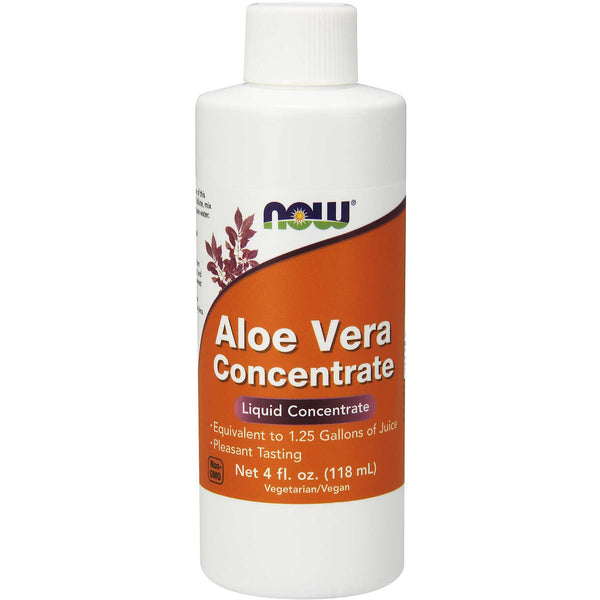 NOW Aloe Vera Concentrate, 118 ml.