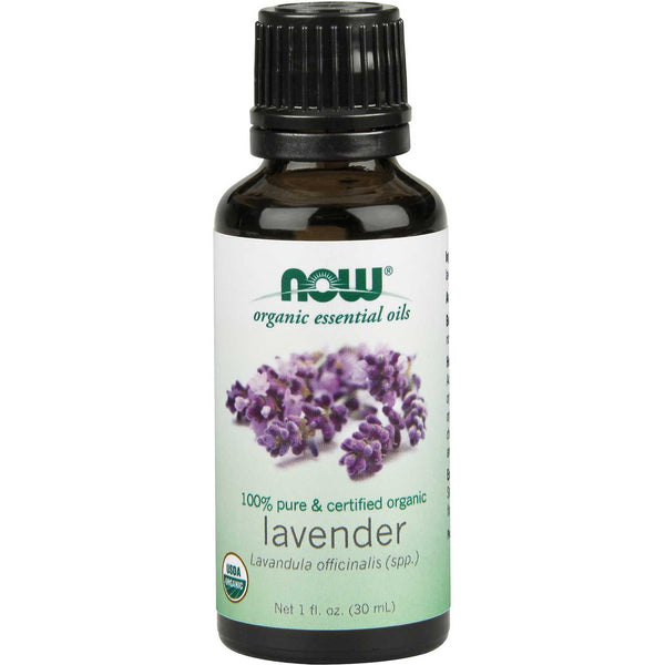 NOW Organic Essential Oil - Lavender, 30 ml.