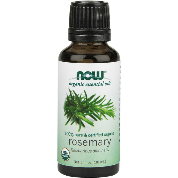 NOW Organic Essential Oil - Rosemary, 30 ml.