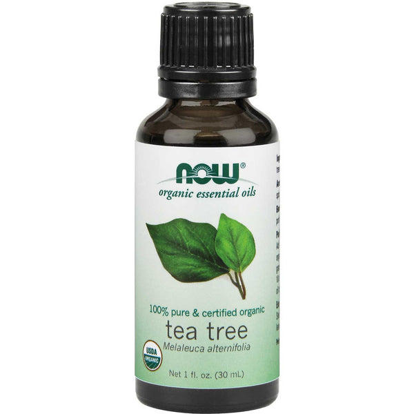 NOW Organic Essential Oil - Tea Tree, 30 ml.