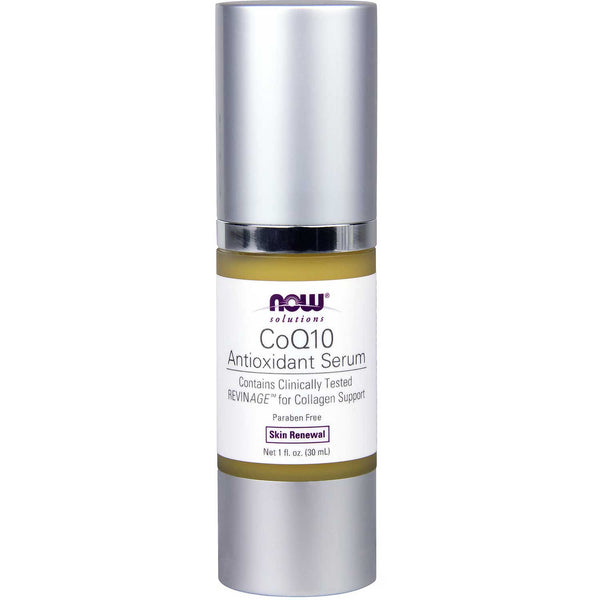 NOW Solutions CoQ10 Antioxidant Serum, 30 ml.