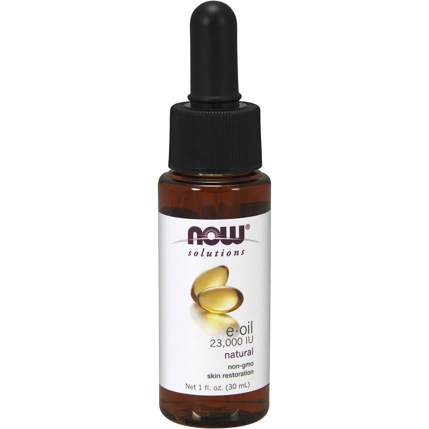 NOW Solutions Natural E-Oil, 30 ml.-NaturesWisdom