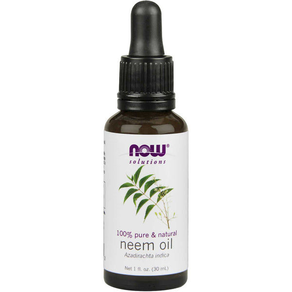 NOW Solutions Neem Oil (100% Pure), 30 ml.