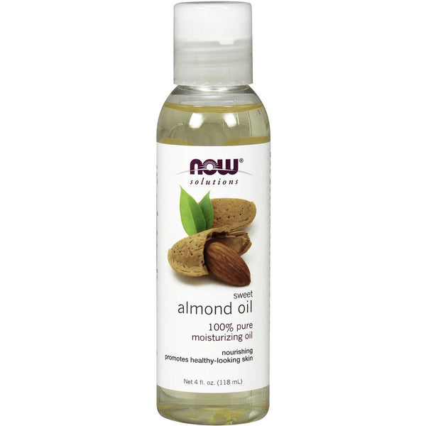 NOW Solutions Sweet Almond Oil (Food Grade), 118 ml.