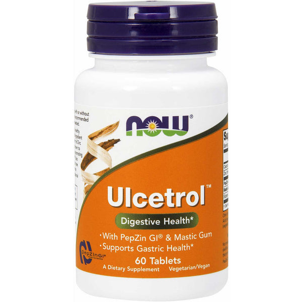 NOW Ulcetrol, 60 tabs.