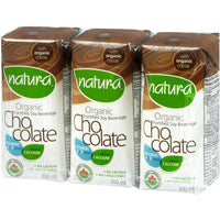 Natur-a Enriched Soy Beverage - Chocolate (Organic), 200 ml.-NaturesWisdom